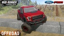 Spintires: MudRunner - FORD F150 CUMMINS EXTREME EXPLORER Trail Track