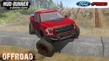 Spintires MudRunner - FORD F150 CUMMINS EXTREME EXPLORER Trail Track