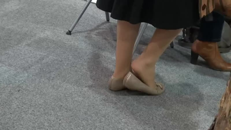 Candid hostess nylon feet - pantyhose shoplay 009