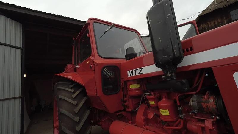 Експортний МТЗ 82 Огляд трактора