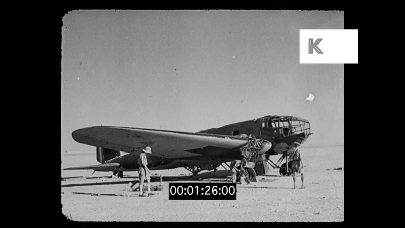 WWII Ceasefire Between Allies and Axis in Middle East 1941, HD
