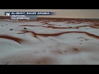 Hail Storm - Saudi Arabia - 04 04 2019.mp4