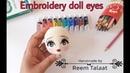 تطريز عيون دمية اميجرومى Embroidery doll eyes amigurumi ده رابط صفح 157