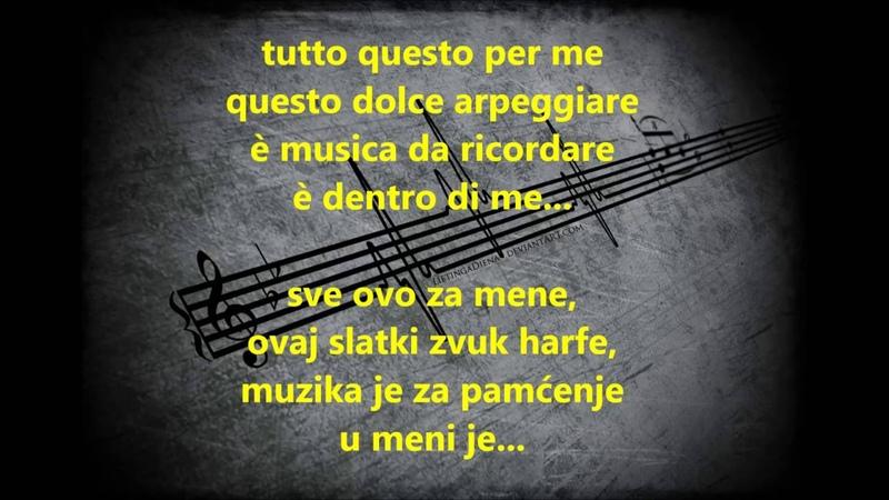 Eros Ramazzotti - Musica è (prevod na srpski)