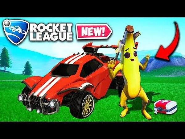 *NEW* PLAY ROCKET LEAGUE IN FORTNITE! - Fortnite Funny Fails and WTF Moments! 504