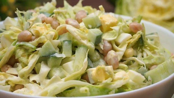 Этот рецепт должен быть у каждой хозяйки Салат Нур с капустой
