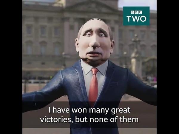 Анимированный Владимир Путин будет вести ток-шоу на телеканале BBC