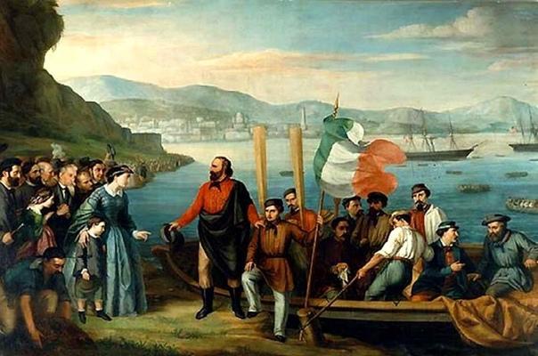11 мая 1860 состоялась высадка «тысячи» Джузеппе Гарибальди на Сицилии.