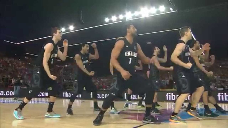 New Zealand's Haka Dance raises some eyebrows on Team USA - FIBA Basketball World Cup
