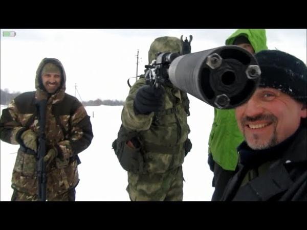 Охота на зомби мутантов или Shooting in Russia Сайга 9 5 45 и 223