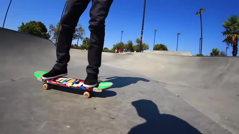 Braille Skateboarding Russia ЛЕГО СКЕЙТБОРД Вы делаете мы катаем