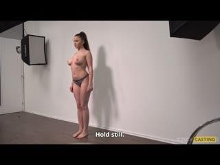 Czechcasting - adela 3780 [2019, amateur, casting, кастинг, сzech, big natural tits, blowjob, hardcore, 1080p]
