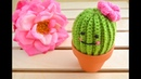 Crochet Cactus / صبّار بالكروشيه
