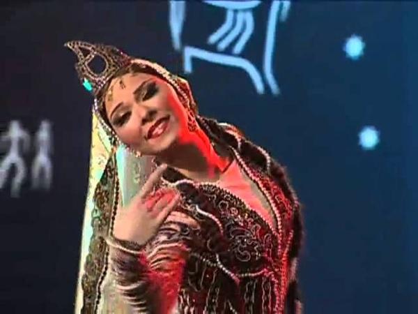 Sari Gelin, Azerbaijan Folk Dance Sari Gəlin, ساری گلین, Blonde bride