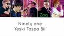 Ninety one Yeski taspa bii' текст песни Lyrics