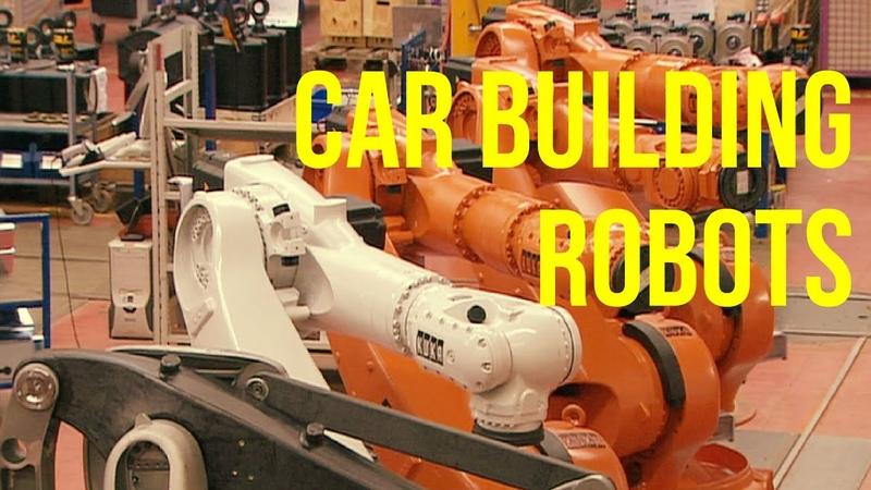 Car Building Robots Production KUKA Plant