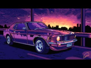 Mustang by camilo abelayras + synthwave 憂鬱 slow -