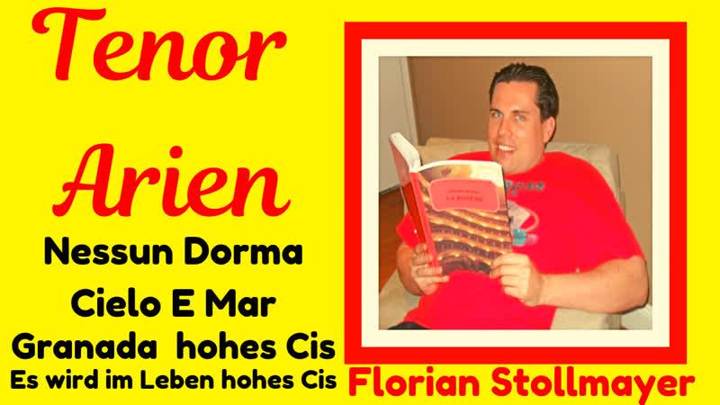 Auszug Finale Tenor Hohe Cs und Cis! Florian Stollmayer lyrischer Tenor