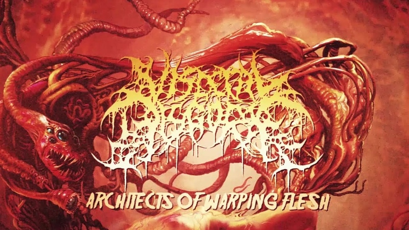 VISCERAL DISGORGE - Architects of Warping Flesh (Official Lyric Video)