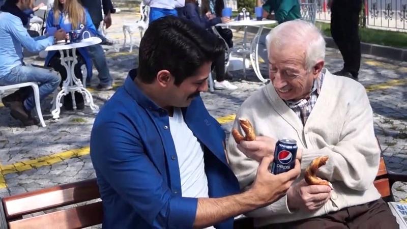 Burak Özçivit Sen De Bizdensin Pepsi Reklamı Kamera Arkası