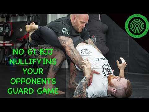 No Gi BJJ Killing your Opponents Guard Game Tutorial