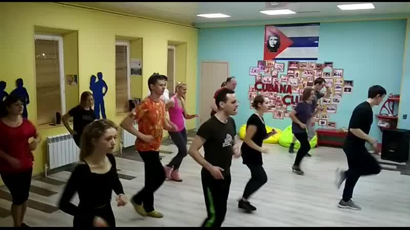 Сальса 14.03.19 Cubana Club Тула