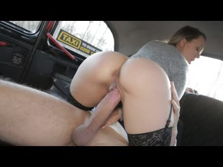 Blue angel the londoner in the hungarian (creampie, big tits, blowjob, hardcore, brunette, car, fake taxi)