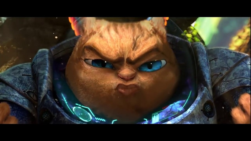 3D короткометражный мультфильм HD Космический Кот от Loic Bramoulle