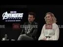 Avengers Endgame Brie Larson & Jeremy Renner interview with Sushant Mehta