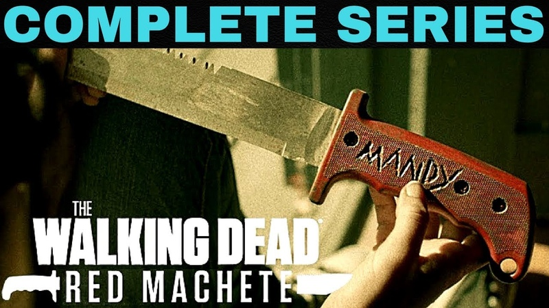 The Walking Dead Red Machete The Complete FULL Volume 1 2 HD TWD AMC Series