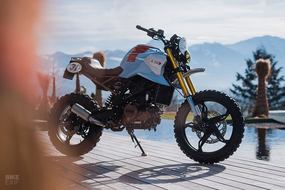 VTR Customs: кастом BMW G310GS