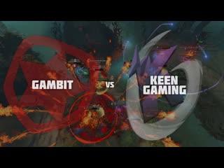 Лучшие моменты gambit vs keen @ esl one birmingham