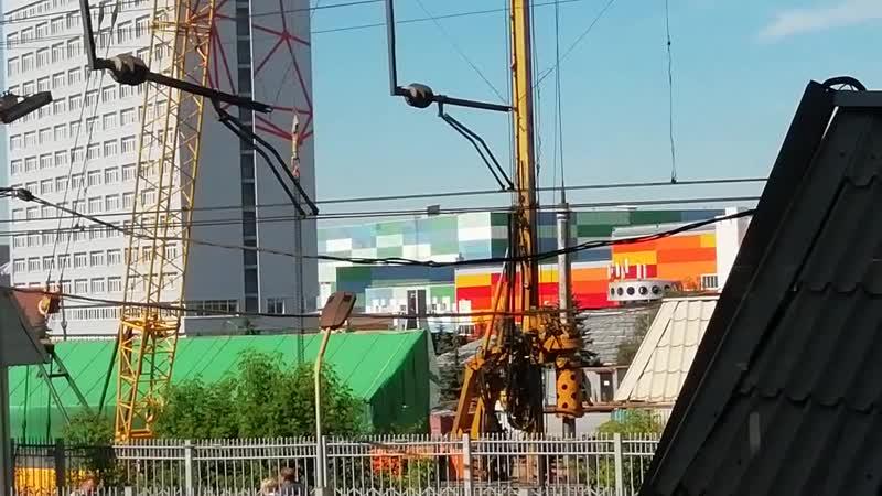 Строительство станции Текстильщики БКЛ