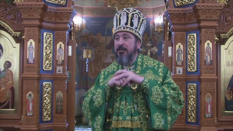 Слово митрополита Савватия в день Святой Троицы (Пятидесятницы)