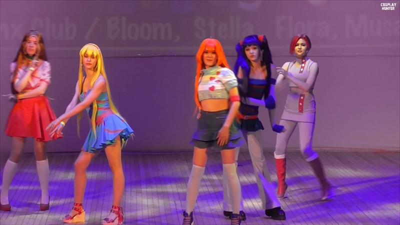 Winx Club Bloom, Stella, Flora, Musa, Tecna AprillCross, Gerda, Анна Ливень, Mirurun, Chio Что то