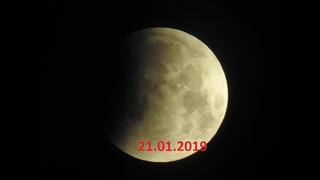 Lunar Eclipse - moon zoom test Nikon