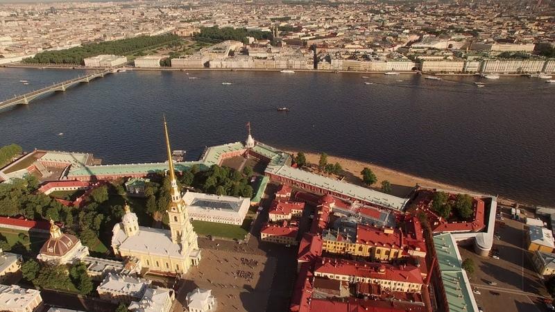 Best of St Petersburg Aerial FPV Drone flights Полеты над Санкт-Петербургом и Петергофом (PC only)