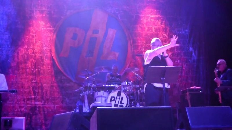 PiL Corporate Live at The Majestic Theatre Detroit MI October 21 2018
