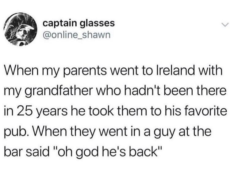 Он вернулся
