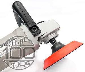 Насадка МЯГКА D150 М14, оправка, опорный диск