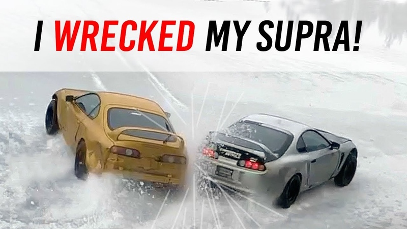 WRECKED My Supra - See HOW We FIXED It!