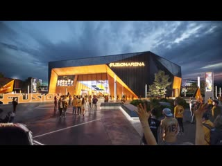 This is the new home of the philadelphia fusion. the 50 million fusion arena will seat 3,