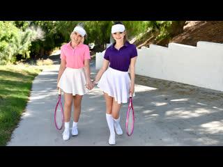 [teamskeet] allie nicole, athena faris - stepsister tennis sex newporn2019