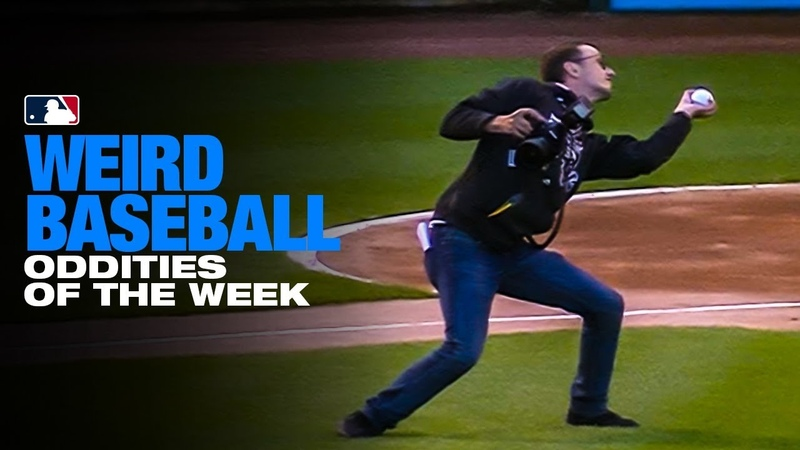 White Sox first pitch goes crazy again! | Weird Baseball of the Week (6/13 to 6/19)