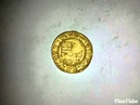 Metal detecting gold coin Matthias Corvinus 1466. My gold coin No. 2