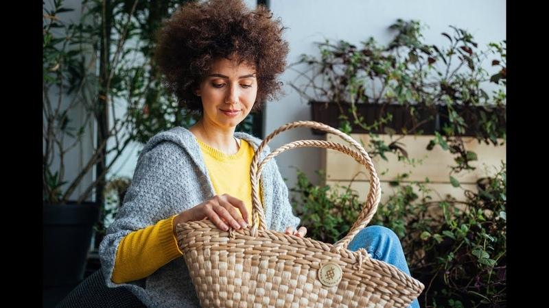 Serfenta Shopper z rogożyny Cattail shopper