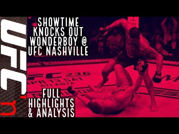 Anthony Pettis vs. Stephen Thompson UFC Nashville Full Fight Highlights | Showtime KO's Wonderboy