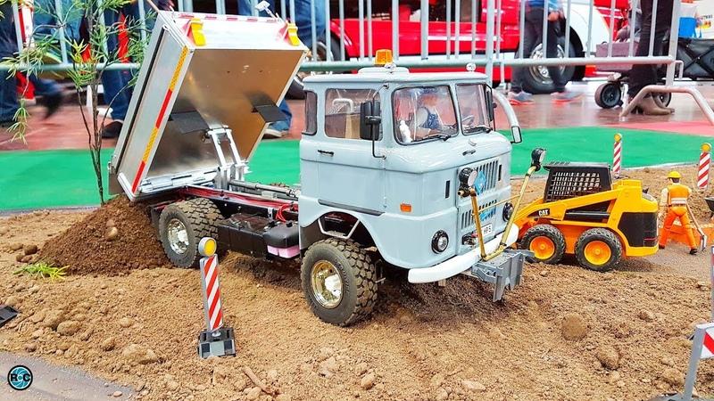 RC Truck IFA W50 L Farmer Action 🚜 IG Modellbaufreunde Ost Leipzig 2017