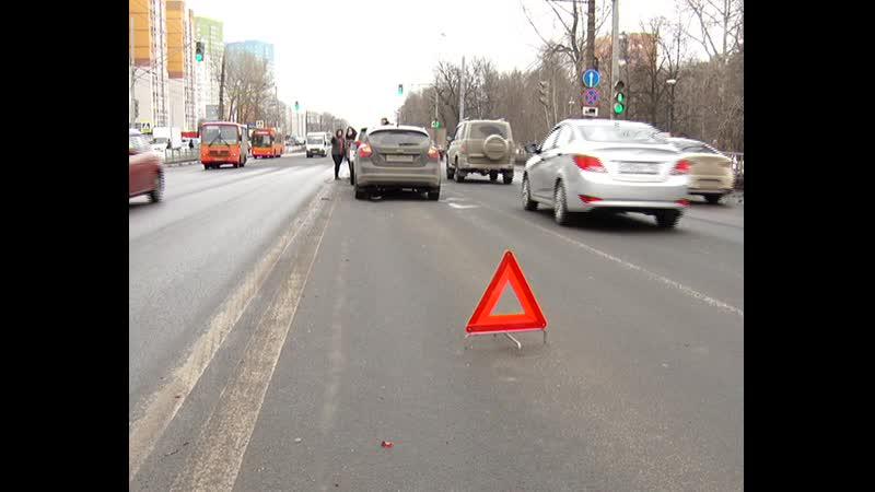 Массовая авария на пр Гагарина