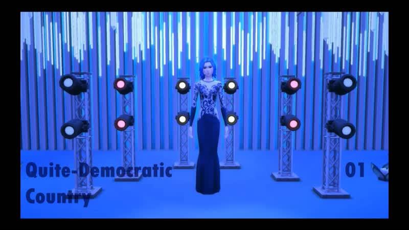 байдоблятОВА - Прекрасная ложь на губах - Quiet-Democratic Country - LIVE - Второй полуфинал - Песатвижн 2019